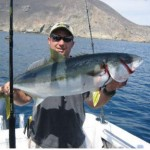 A Thick Coronado Islands Yellowtail! Photo sent in by private boater Jesus Denogean on June 15, 2007